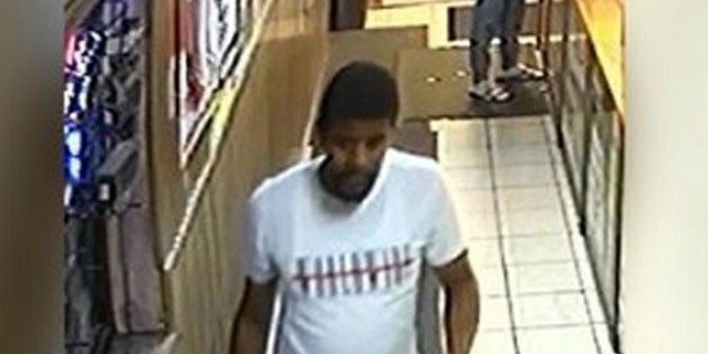 Police are searching for this suspect in a Philadelphia ATM explosion.