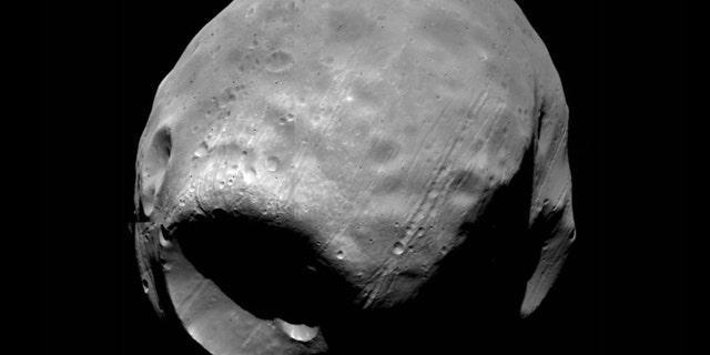 The Martian moon Phobos.