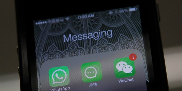 Phone apps like WhatsApp can use up lots of data.