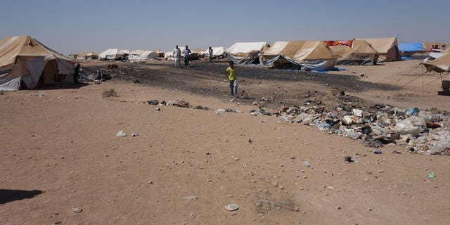 Arisha Camp, Syria. Dire conditions for those fleeing ISIS.
