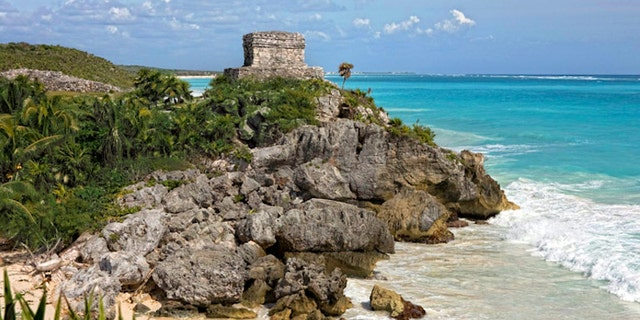 Tulum, Mexico, was an ancient Mayan fortress city that rose to power toward the end of the Classic period.