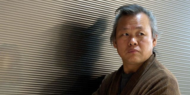 """Director Kim Ki-Duk attends TheWrap's awards season screening series at Landmark Theaters in LA on November 5, 2012. Prize-winning South Korean film director Kim Ki-Duk said Tuesday he had cut scenes from his incest-themed new movie """"Moebius"""" after it was effectively banned by domestic censors."""