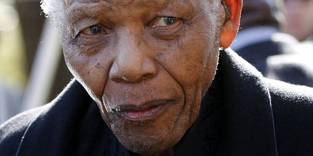 Former South African President Nelson Mandela is pictured in Sandton, north of Johannesburg, on June 17, 2010. The ambulance that rushed Mandela to hospital two weeks ago broke down and another had to be called, but the mishap did not endanger the anti-apartheid hero, the South African presidency has said.