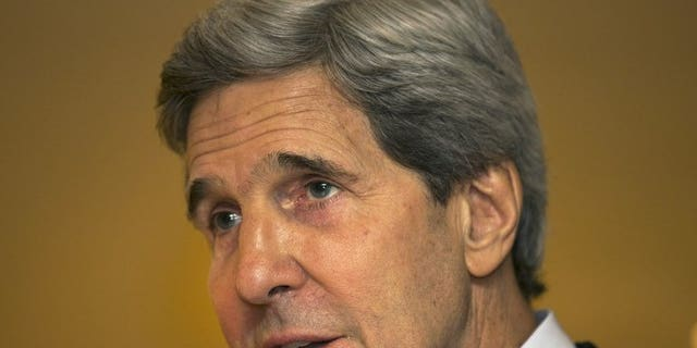 US Secretary of State John Kerry, pictured June 25, 2013, and Russian Foreign Minister Sergei Lavrov will meet next week to discuss the situation in war-torn Syria, the United Nations said.