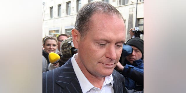 Former England footballer Paul Gascoigne leaves Newcastle Magistrates court in north-east England, on December 9, 2010. Gascoigne has been arrested on suspicion of a drunken assault at a railway station but was later released without charge, police said Friday.