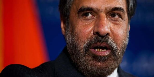 India's Commerce Minister Anand Sharma speaks at the US-India Business Council??s 36th Anniversary Leadership Summit on June 23, 2011 at the US Chamber of Commerce in Washington, DC. India is ready for talks with the United States on a bilateral investment treaty to reinvigorate commercial ties between the world's two biggest democracies, a report said.