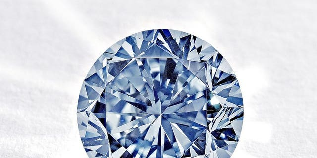 A rare round blue diamond will go under the hammer in Hong Kong in October, with auctioneers hoping the sale will fetch a record-breaking $19 million despite fears over the slowing Chinese economy.