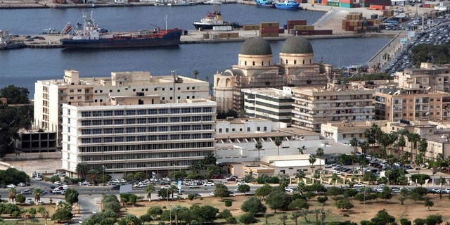 A general view of the eastern Libyan port city of Benghazi on the Mediterranean Sea on November 1, 2012. Gunmen killed a Libyan army colonel in a drive-by shooting on Friday after he left a mosque in the eastern city of Benghazi, a security source told AFP.