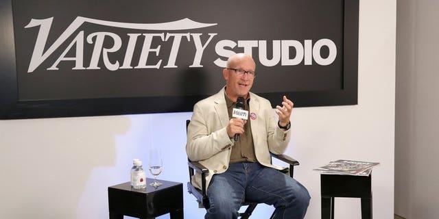 Director Alex Gibney speaks at Variety Studio presented by Moroccanoil at Holt Renfrew during the 2013 Toronto International Film Festival on September 9, 2013 in Toronto, Canada.
