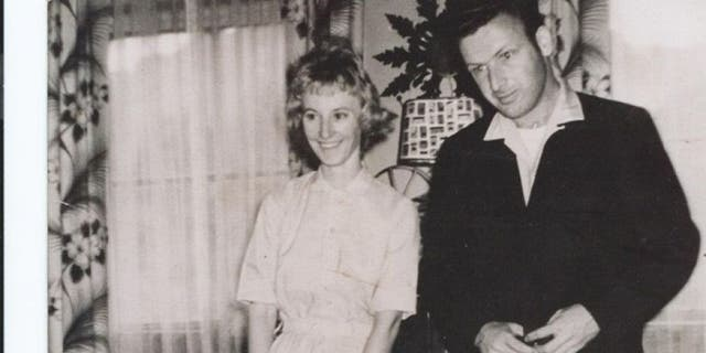 This undated photo shows Phyllis Carson with her husband.