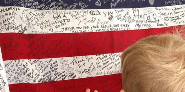 Malachi raised nearly $7,000 for fallen Deputy Jacob Pickett's family.