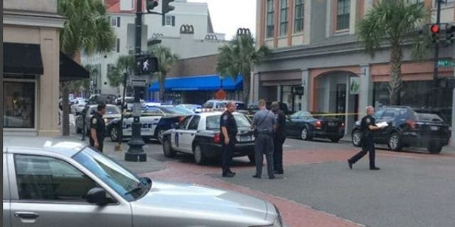 A disgruntled employee held people hostage in a Charleston, S.C., restaurant on Thursday.