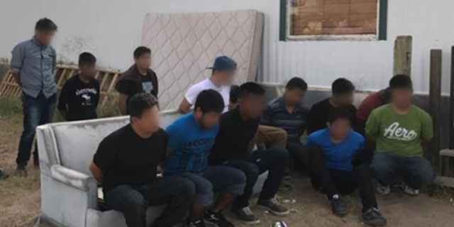 U.S. Immigration and Customs Enforcement and Border Patrol agents arrested 18 human smugglers and 117 illegal immigrants in June.