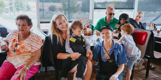 """Sixteen people celebrated the young boy on his birthday and the staff was """"super friendly."""""""