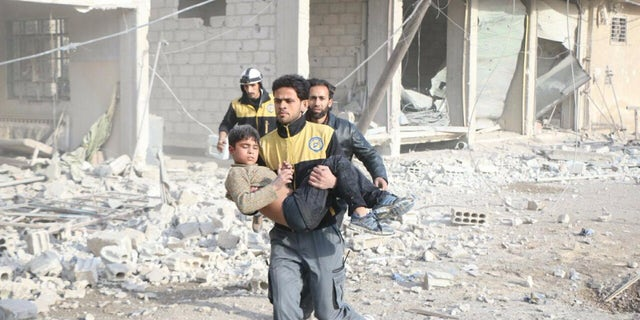 Children make up more than half the population in Eastern Ghouta, and are among the casualties.