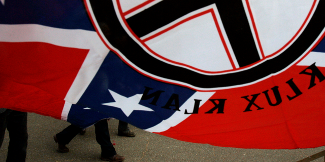 Fliers advertising a Ku Klux Klan rally under a seemingly different name were found in an upstate New York neighborhood.