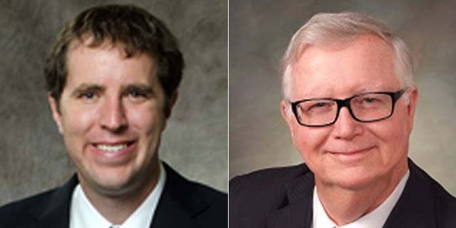 Pidot, (l.), and Miller, (r.), have differing views on Wyoming's law regarding environmental data collection.