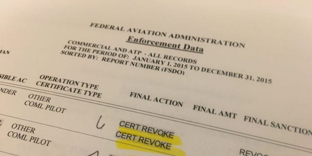 The federal agency often moves to revoke the certificates of pilots caught flying with blood alcohol levels above the limit.
