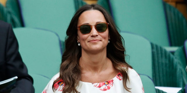 Pippa Middleton at Wimbledon, on the All England Lawn Tennis & Croquet Club in England, on June 27, 2016.