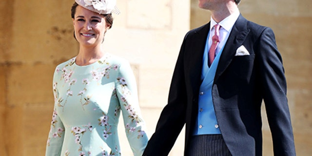 Pippa Middleton and James Matthews wed last May.