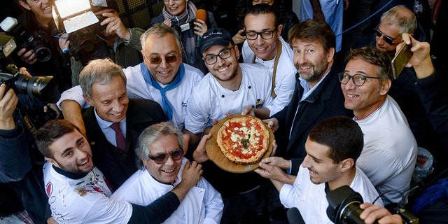 About 2 million pizza enthusiasts had signed a petition to support Naples' application for the UNESCO status