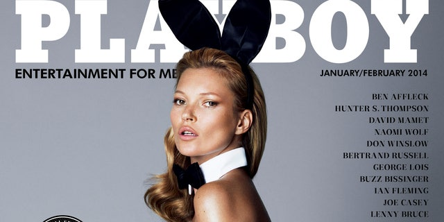 Kate Moss made the cover of Playboy in her later years.