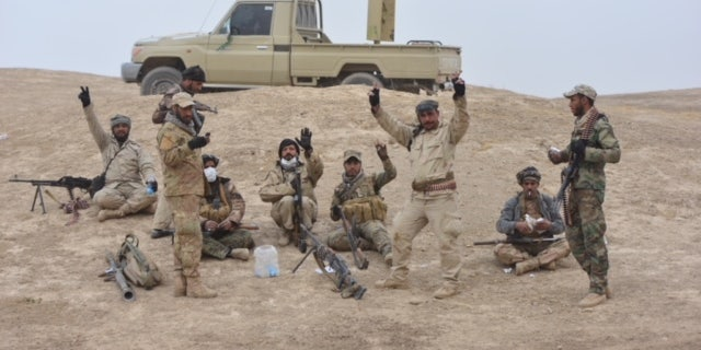 Popular Mobilization Forces (PMF) fighting ISIS across Iraq.