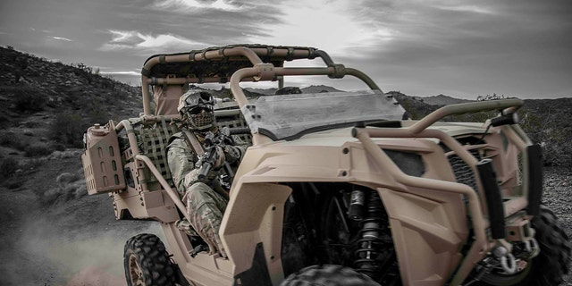 The MRZR ATV can support troops in hard-to-reach locations