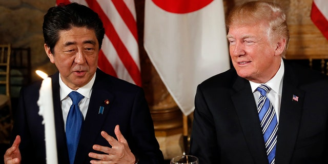 Trump said the release of Japanese citizens from North Korean captivity was an important issue for him.