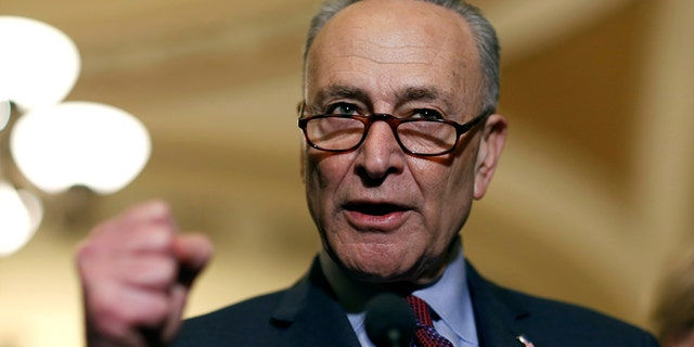 Sen. Chuck Schumer, D-N.Y., expressed his support for marijuana decriminalization.