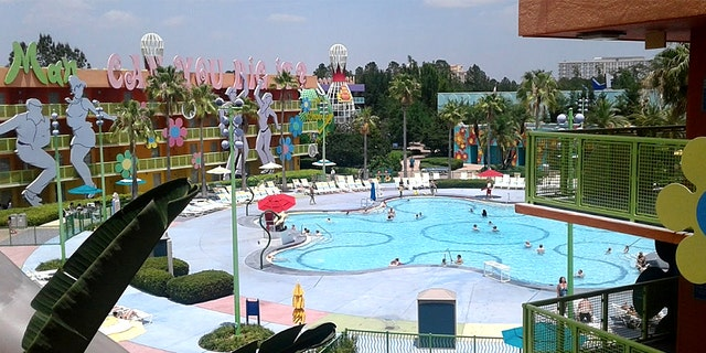 A Disney Cast Member was killed in an industrial accident near Disney's Pop Century resort on Monday, according to local reports.