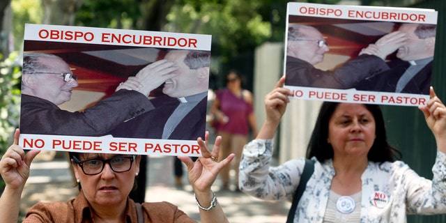Many Chileans are still furious at Francis' decision to appoint Bishop Juan Barros as the bishop of the southern city of Osorno as he was a protégé of the country's most notorious pedophile priest, the Rev. Fernando Karadima.