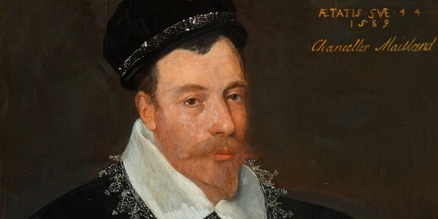 Adrian Vanson's portrait of Sir John Maitland (National Trust Images)
