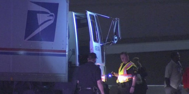 Tony Mosby was killed after someone opened fire at his postal truck on a highway near downtown Dallas on Monday.