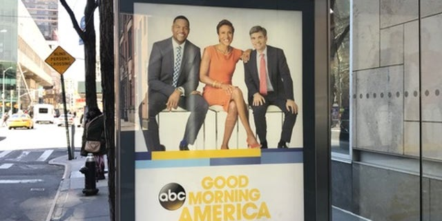 """They posted it right there so it would be in her face every day when she comes to work,"" a network insider said of a bus poster outside ABC."