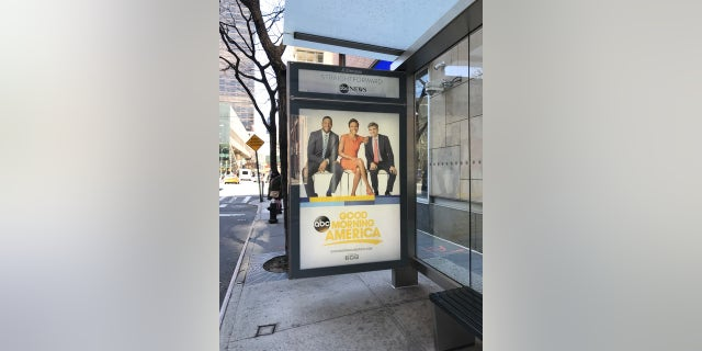 """""""They posted it right there so it would be in her face every day when she comes to work,"""" a network insider said of a bus poster outside ABC."""