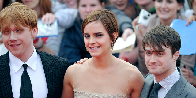 """""""Harry Potter"""" ended its run in 2011 and skyrocketed the young actors's net worth to nearly $100 million."""