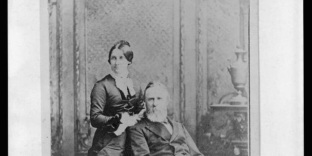 President Hayes and Lucy Webb Hayes