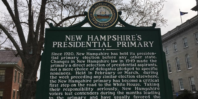 New Hampshire holds the first primary election of the presidential campaign season.