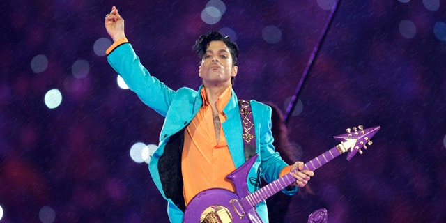Prince was remembered by fans a year after his death.