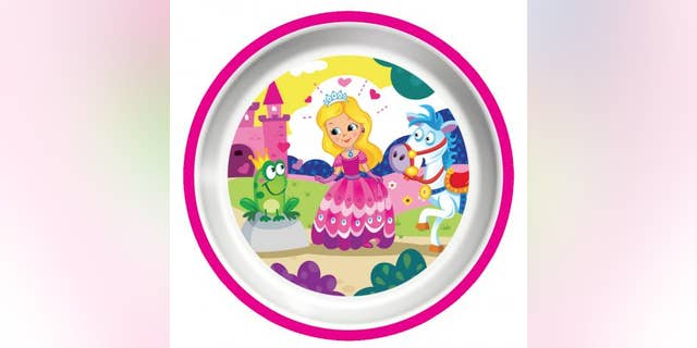 The colorful Platex childrens plates and bowls were recalled due to a choking hazard.