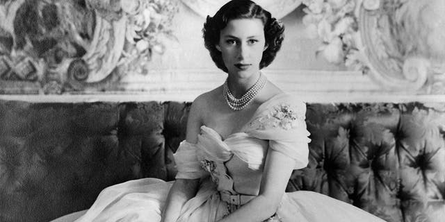 A young Princess Margaret.
