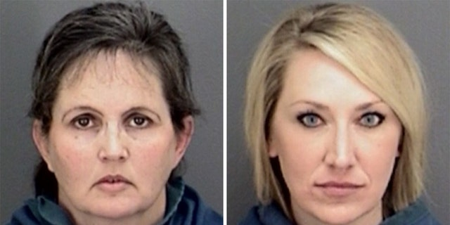 Texas elementary school principals Kory Francher Dorman, 45, (left) and Cindy Sue Underwood, 35, (right) were arrested for failing to report separate incidents of sexual abuse.