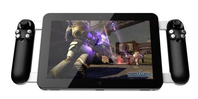 Razer's crowdsourced gaming tablet.