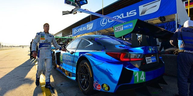 Pruett will try for one last trip to victory lane in the Lexus RC F on Jan 27-28.