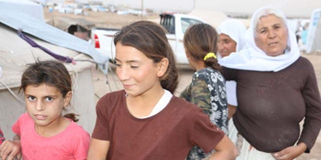 Rinda, 10, a Yazidi girl, was taken prisoner by ISIS and sold eight times to ISIS fighters.