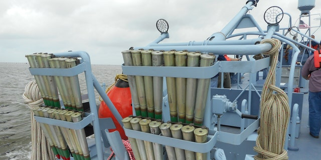 Rounds used for the 40mm gun. All the weapons on PT-305, however, are not operational.