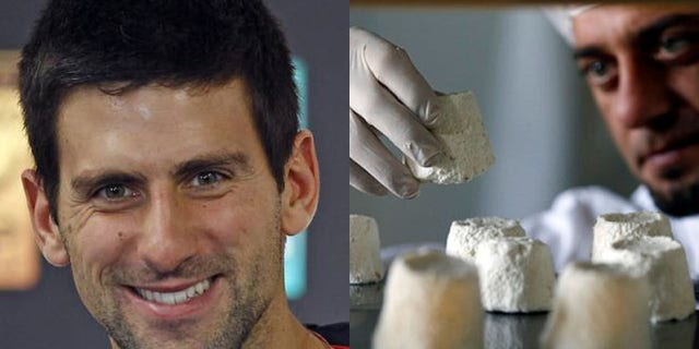 Novak Djokovic has reportedly bought the world's supply of donkey cheese.  The cheese, called Pule, is made at a farm outside of Belgrade and is the most expensive cheese in the world.