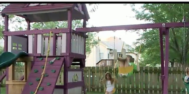 Marla Stout says there is nothing wrong with having a purple swing set, but her homeowner's association disagrees.