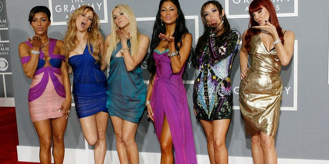 The Pussycat Dolls arrive at the 49th Annual Grammy Awards in Los Angeles February 11, 2007.